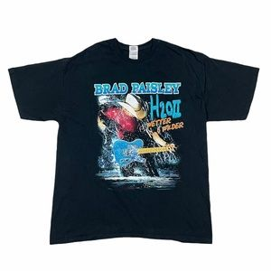 Brad Paisley H2O Wetter and Wilder Concert T Shirt